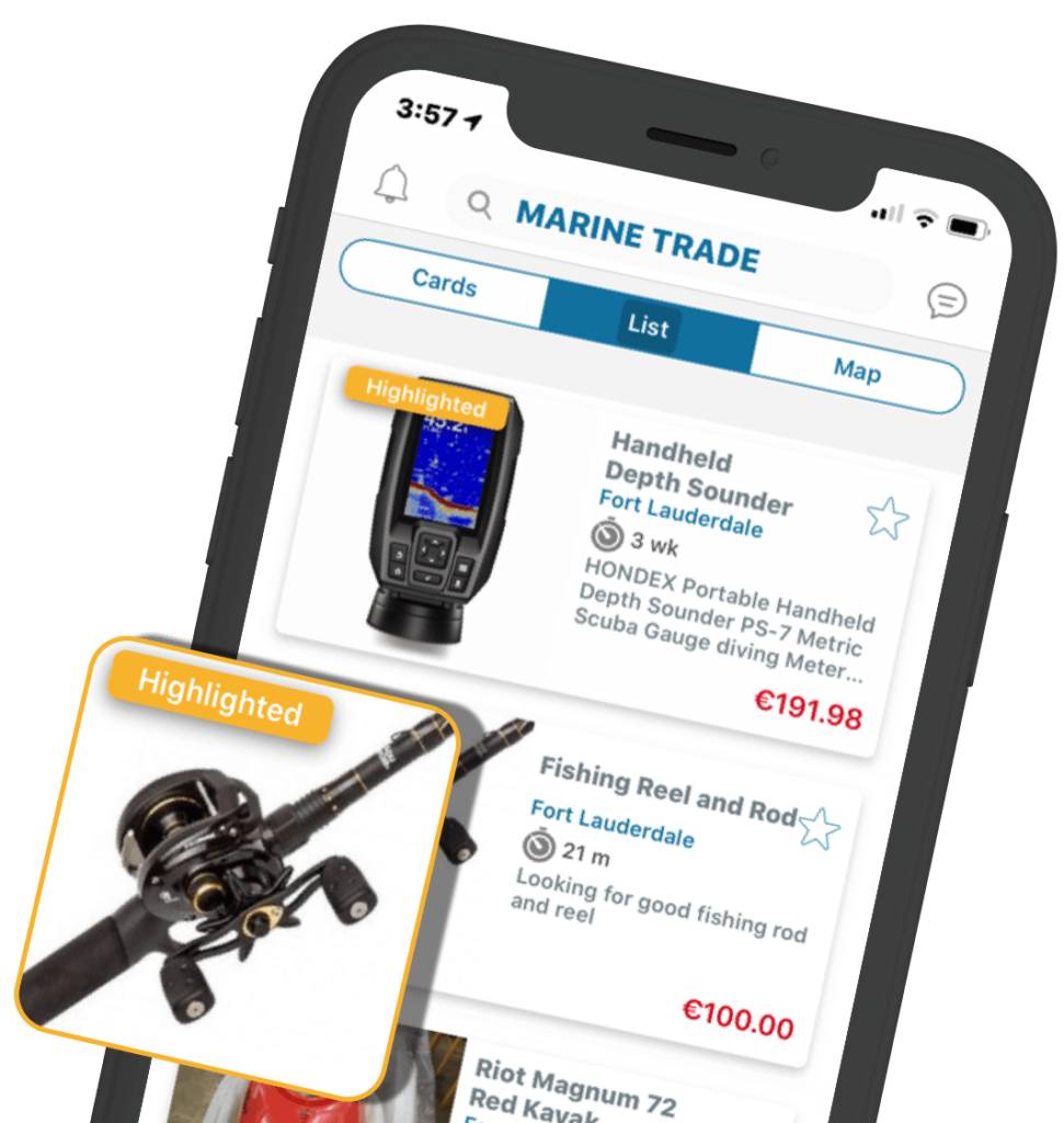Marine Trade Highlighted Promotion